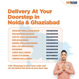 noida and ghaziabad delivery