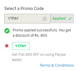 ytpay code