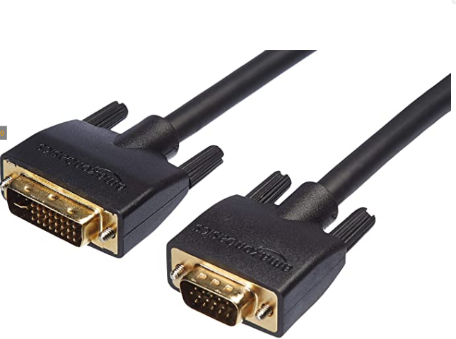 AmazonBasics DVI-I to VGA Cable - 15-Feet (Black)