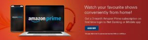 Download iMobile App and get 3 month complimentary Amazon Prime Video