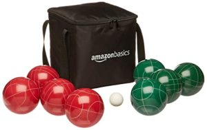 AmazonBasics Bocce Ball Set with Soft Carry Rs 499 amazon dealnloot
