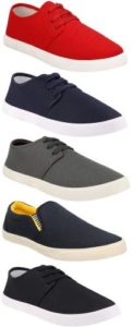Chevit Combo Pack of 5 Casual Sneakers Rs 597 flipkart dealnloot