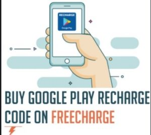 Freecharge Google play offer