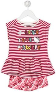 Hello Kitty Girls Casual Dress Shorts Multicolor Rs 426 flipkart dealnloot