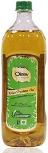 Oleev Pomace Oil PET Bottle 1 L Rs 319 amazon dealnloot