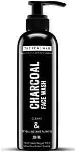 THE REAL MAN Instant Fairness Charcoal Face Rs 160 amazon dealnloot