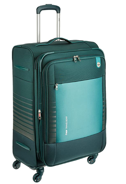 VIP Polyester 46 cms Emerald Green Softsided Suitcase (STORBW72EGN)