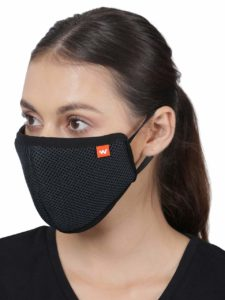 Wildcraft HypaShield reusable outdoor protection mask W95 (Pack of 5) at Rs 168