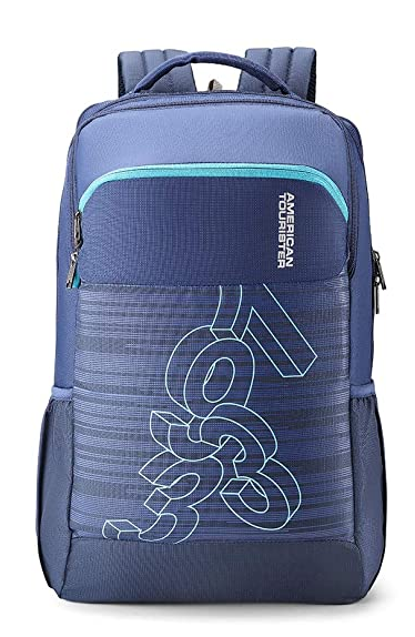 American Tourister Jet 28 Ltrs Blue Casual Backpack