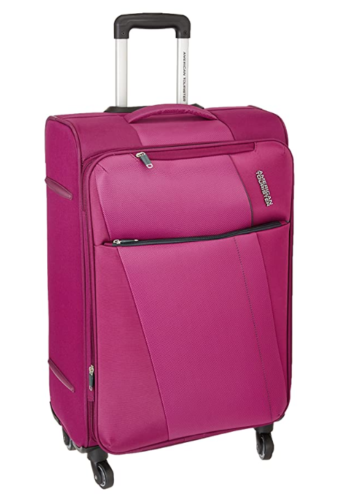 American Tourister Michigan Polyester 57 cms Magenta Carry-On