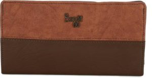 Baggit Women Casual Brown Artificial Leather Wallet Rs 299 flipkart dealnloot