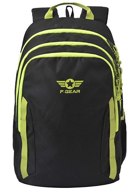 F Gear Raider 30 Liter Black Casual Backpack