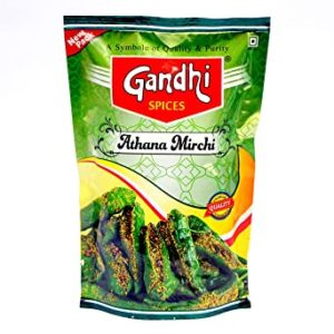 Gandhi Green Chilly Pickle 400 g Rs 84 amazon dealnloot
