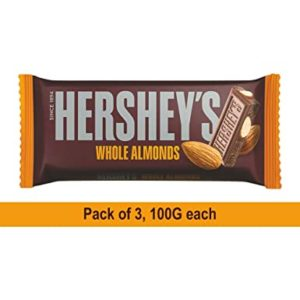 Hershey s Bar Almond 100gm Pack of Rs 252 amazon dealnloot