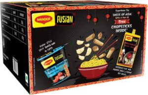 MAGGI Fusian Spicy Tomato Asian Style Cuppa Rs 175 flipkart dealnloot