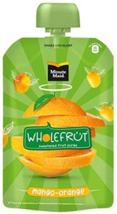 Minute Maid Wholefrüt Mango Orange Purée