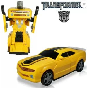 Miss & Chief Transformers Bumble bee with Music