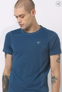 PERFORMAX Panelled Crew-Neck T-shirt