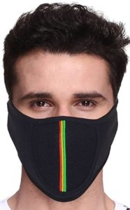 Protecion Half Face Cover Mask (Black)
