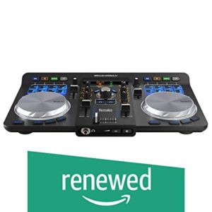 Renewed Hercules DJ 4780773 Controller Black Rs 5990 amazon dealnloot