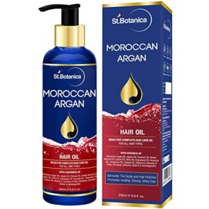 StBotanica Moroccan Argan Hair Oil With Pure Rs 599 amazon dealnloot