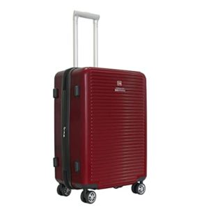 Swiss Military Polycarbonate 46 cms Red Hardsided Rs 3447 amazon dealnloot