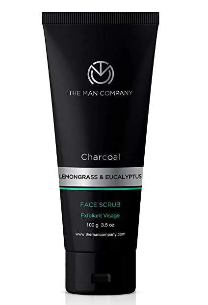 The Man Company Charcoal Face Scrub for Exfoliation