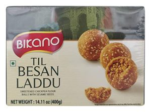 Bikano Til Besan Laddu 400 g Rs 160 amazon dealnloot