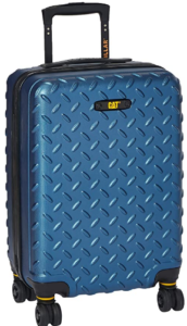 CAT Industrial Plate ABS 54 cms Sea Blue Hardsided Cabin Luggage