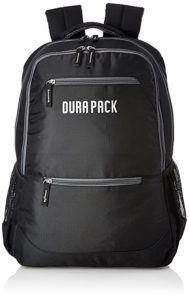 DURAPACK Neo 26 Ltrs Double Black Casual Rs 346 amazon dealnloot