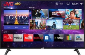 JVC 122cm 49 inch Ultra HD 4K Rs 22999 flipkart dealnloot