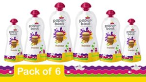 Paper Boat Thandai 180ml Pack of 6 Rs 165 amazon dealnloot