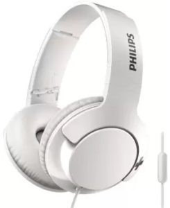 Philips SHL3175WT Wired Headset  (White