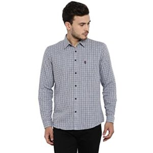 Red Tape Men s Checkered Regular Fit Rs 779 amazon dealnloot