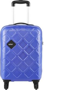 Safari Mosaic Cabin Luggage 55 cm Blue Rs 1699 flipkart dealnloot