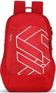 Skybags Tekie 05 20 cms Red Laptop Backpack