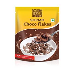 Amazon Brand Solimo Choco Flakes 1 2kg Rs 249 amazon dealnloot