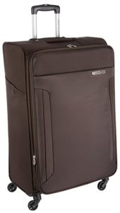 American Tourister Troy Polyester 79 cms Chocolate Rs 3060 amazon dealnloot