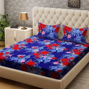 Bombay Dyeing 136 TC Polyester Double Floral Rs 322 flipkart dealnloot