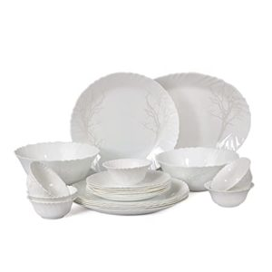 Cello Imperial Winter Frost Opalware Dinner Set Rs 1465 amazon dealnloot