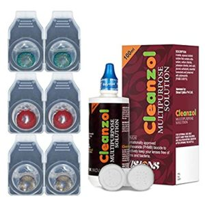 CleanZol 3 Pair Monthly Disposable Zero Power Rs 198 amazon dealnloot