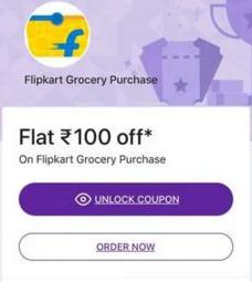 Flipkart Grocery Coupon
