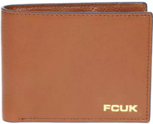 French Connection Men Leather Wallet