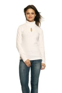 GRITSTONES White HIGH Neck Full Sleeves HIGH Rs 119 amazon dealnloot