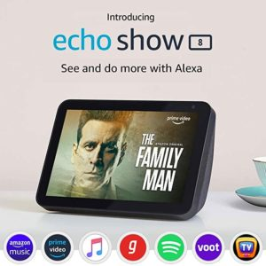 Introducing Echo Show 8 Smart display with Rs 6999 amazon dealnloot