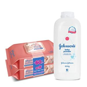 Johnson s Baby Wipes Pack of 2 Rs 420 amazon dealnloot