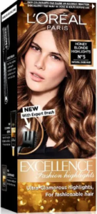 L'Oreal Paris Excellence Fashion Highlights Hair Color - Honey Blonde