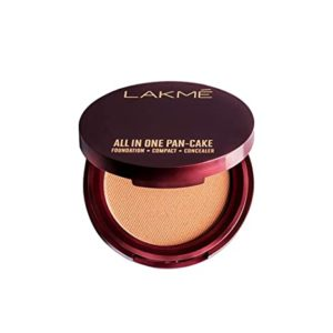 Lakmé All In One Pan Cake Natural Rs 110 amazon dealnloot