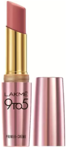 Lakme 9To5 Primer + Crme Lip Color, Pink Bell CP8