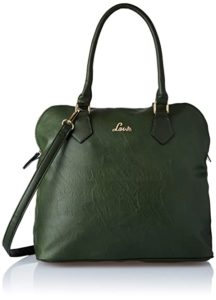 Lavie Carrie Women s Satchel Olive Rs 690 amazon dealnloot